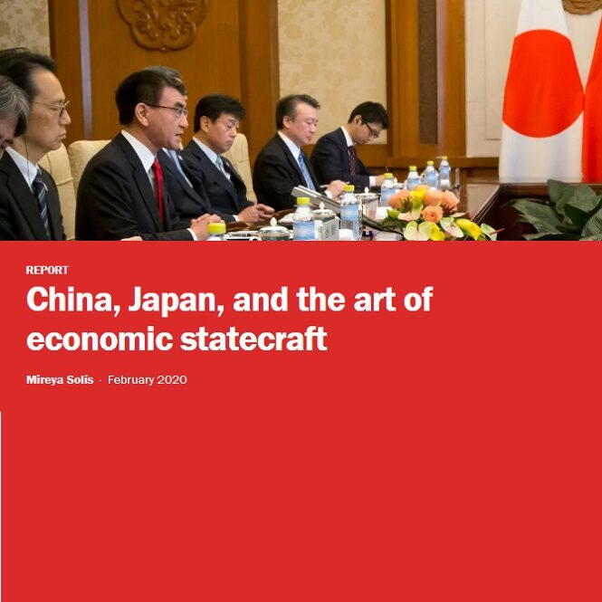 China, Japan, and the art of economic statecraft by Mireya Solís